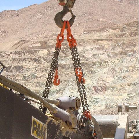 Cables de acero, cadenas, eslingas y elementos de elevación | Sercables